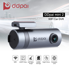 DDpai Mini2 WIFI Car DVR 1440P Dash Camera Vehicle Digital Video Recorder Camcorder APP Monitor Night Vision Remote Snapshot