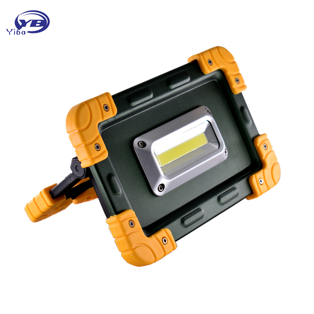 20W Portable Light COB LED Camping Lantern Rechargeable Work Light Floodlight Flashlight Outdoor Tent Lamp Spotlight Searchlight