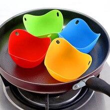 2 PCS High Temperature Resistant Silica Gel Egg Cooker Environmental Protection Food Grade Steamer  Holder beater
