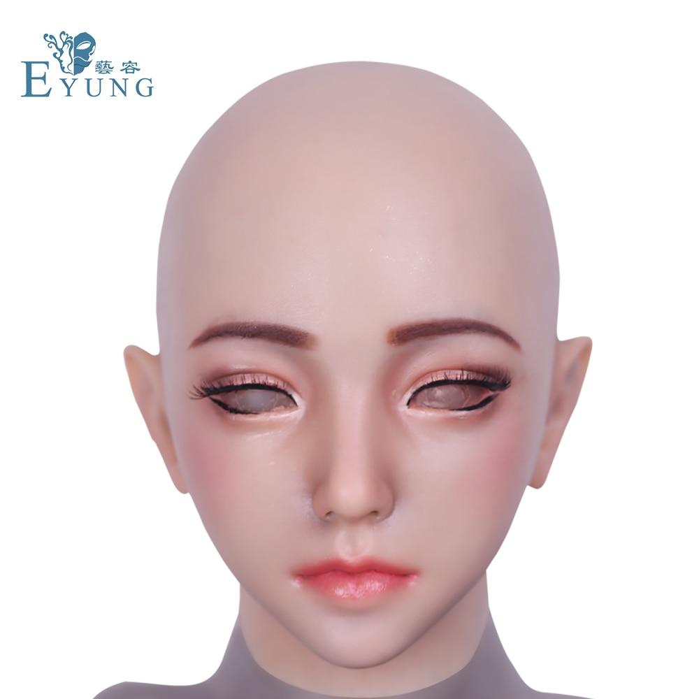 2018 nouvelle poupée Emily adapté pour crossdresser mascarade Pseudo rue produits pour glisser reines shemale cosplay bouche ouvrable