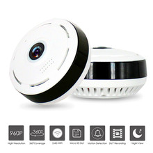 ZILNK FishEye IP Camera 360 Degree Panoramic HD 960P Wireless Mini WIFI Camera Night Vision IR Network CCTV Camera