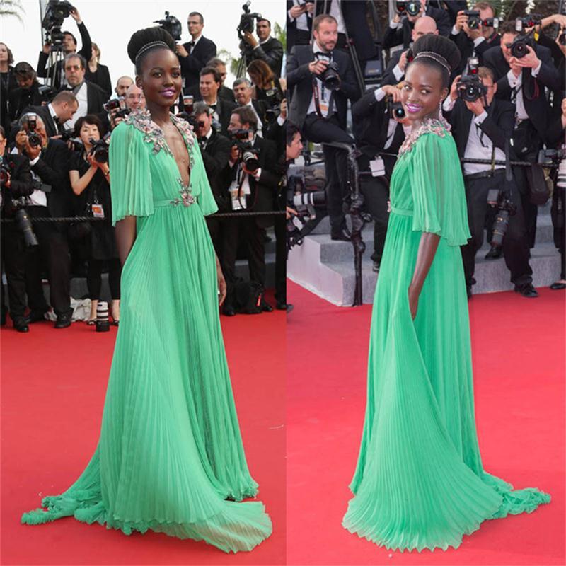 Online Get Cheap Green Red Carpet Dresses -Aliexpress.com ...