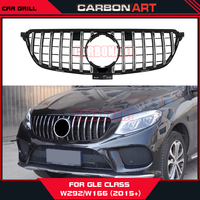 [11.11] W166 W292 GT grille for mercedes GLE class SUV GT R front bumper racing grille GLE300 GLE400 GLE450