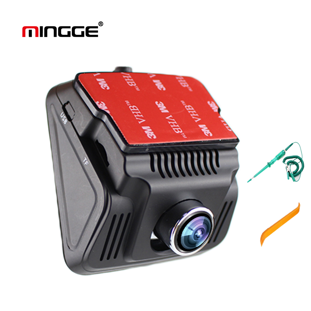 MINGGE 005 D Free Shipping Dash Cam Car Dash Camera Dashboard HD1080P Black Box with G-Sensor WDR Loop Recording