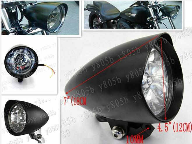 Mini Bullet Clignotants micro e-vérifié pour custom chopper bobber Harley Cafe Racer