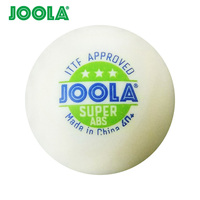 Wholesales link 72 Balls JOOLA 3 Star SUPER ABS (2018 New, Seamed) Table Tennis Ball ITTF Approved Plastic 40+ Ping Pong Balls