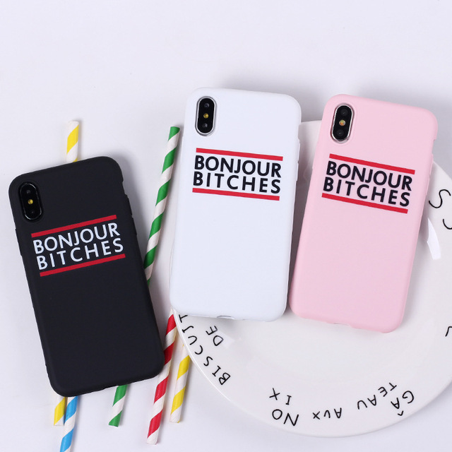 Graffiti Letter Quote Phone Case For iPhone