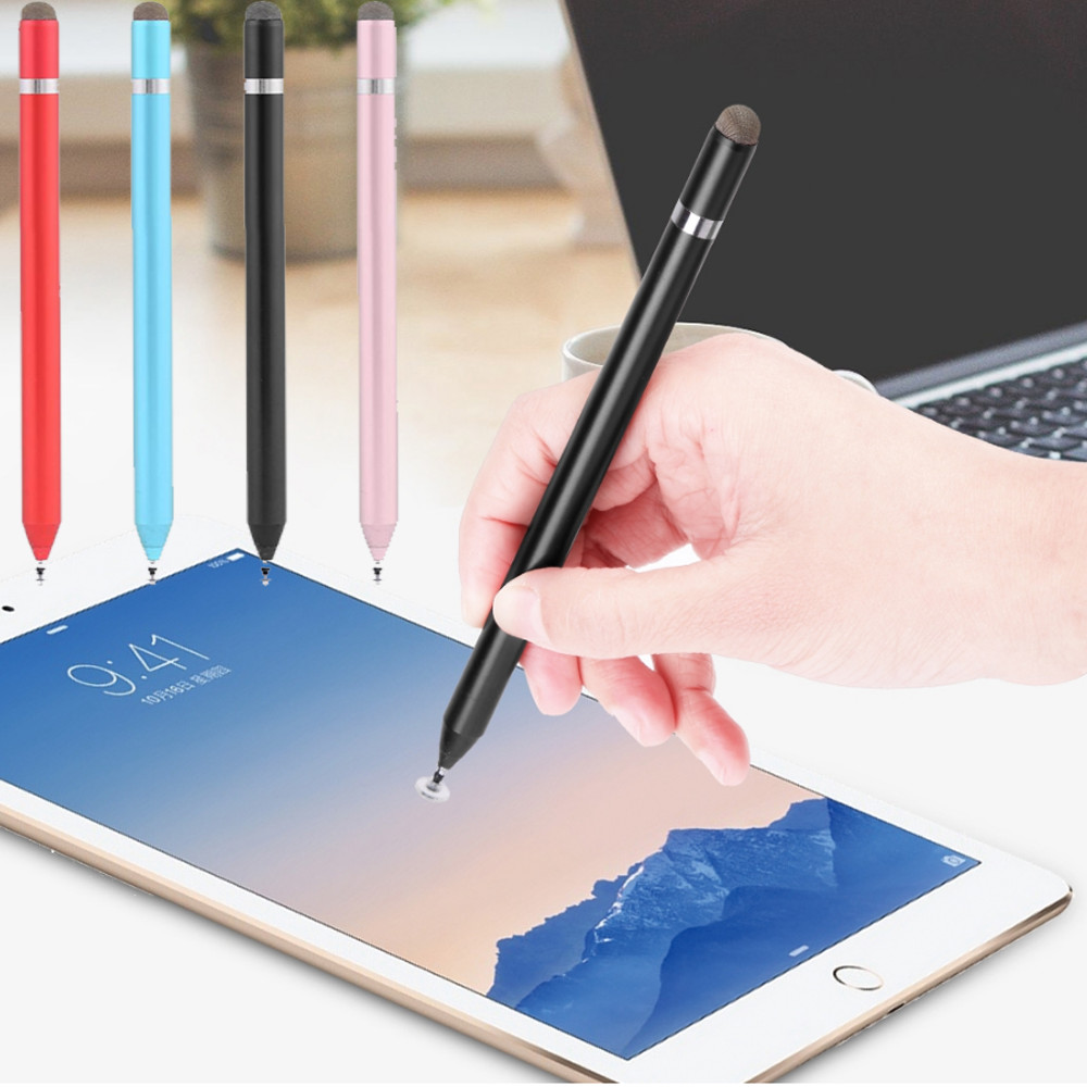 Capacitive Touch Screen Pen for iPhone/iPad Drawing Writing Stylus Pen for MacBook Air/Huawei/Samsung/Xiaomi Tablet PC Pens