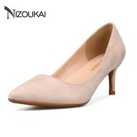Womens Shoes Plus Size 41 42 2018 New Fashion High Heels Women Pumps Thin Heel Classic