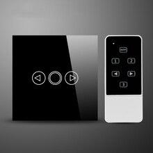 ПРИВЕЛО Диммер ЕС Стандартный Кристалл Сенсорным Стеклом и Пульт Дистанционного Управления Свет Диммер Сенсорный Экран Диммер Smart Switch