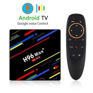 Image 2 - GRWIBEOU Android 8,1 caja de TV inteligente RK3328 4G 64G receptor de TV 4 K Bluetooth Wifi Ethernet de red de medios jugador rápido Set Top Box