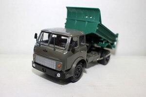 Image 4 - الأصلي الروسية نموذج ، 1:43 سبيكة خمر شاحنة ماز ماس النقل شاحنة ، محاكاة شاحنة لعبة ، جمع الكلاسيكية ، شحن مجاني