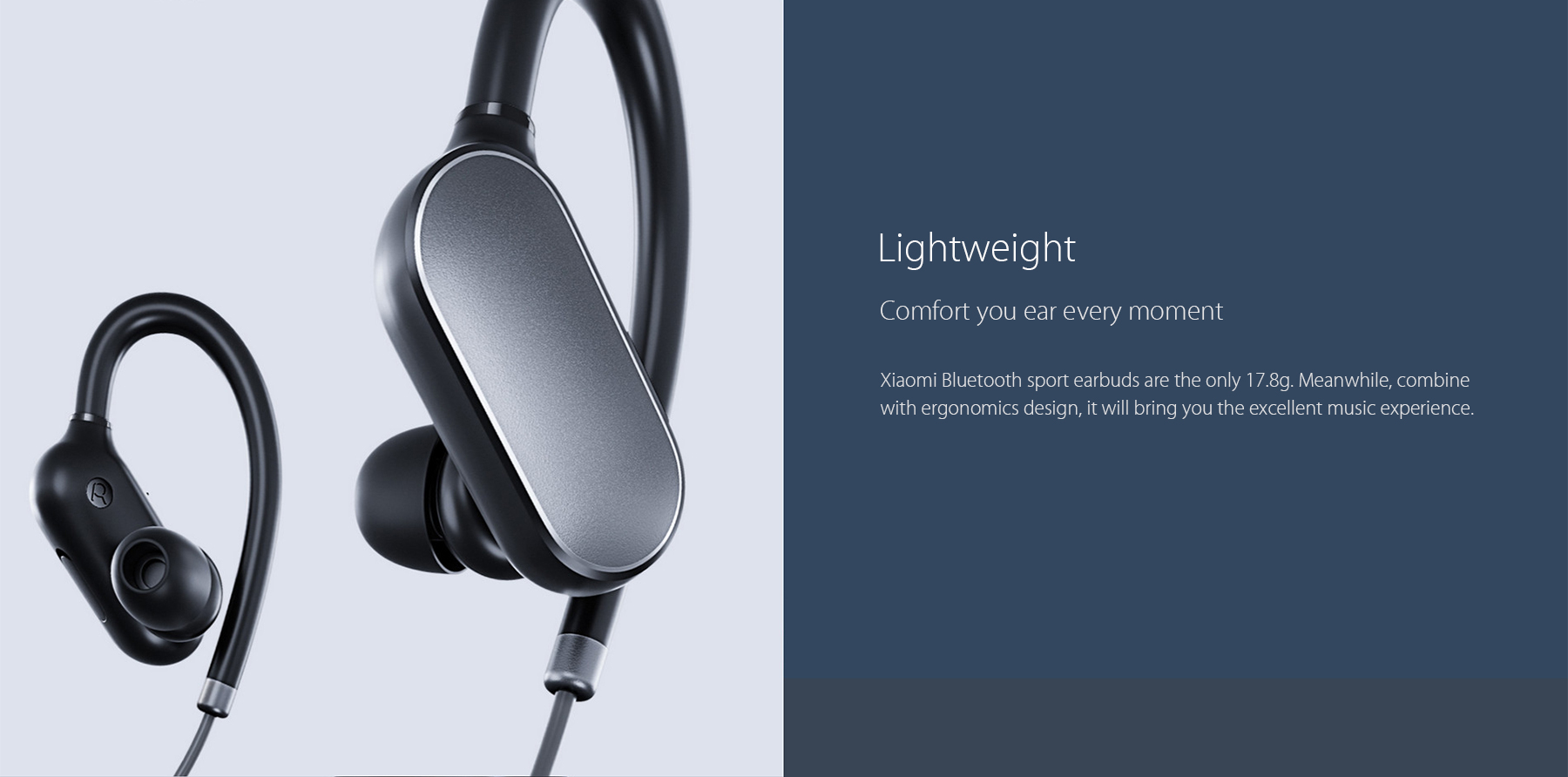33687f93c3c Xiaomi YDLYEJ01LM Bluetooth 4.1 Music Sport Earbuds Hands Free Calls Volume  Control Song Switch Waterproof Wireless Earphone-in Bluetooth Earphones ...
