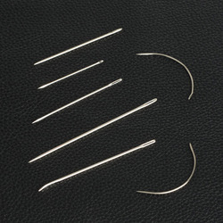 7pcs Repair Sewing Needles For Leather Canvas Tailor Manual Carpet M6Z7