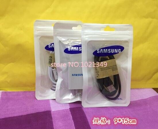 Ev ve Bahçe'ten Saklama çantaları'de 1000 adet/grup 9*15 cm zip kilit çanta fermuarlı Plastik Ambalaj çantası için bluetooth kulaklık kulaklık ambalajı SAMSUNG USB kablosu'da  Grup 3