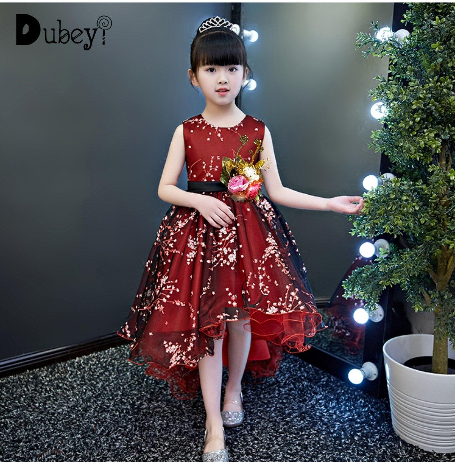 Petite sirène robe de soirée fille robe de soirée Costume de princesse pour une fille fantaisie robe pour enfants Festival vêtements