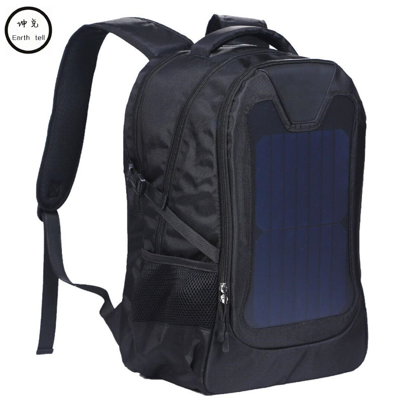 Original waterproof 5V Solar Battery Charging Business Travel Backpacks Bags Tourism Solar Panel USB Output Charger computer bag 100w folding solar panel solar battery charger for car boat caravan golf cart