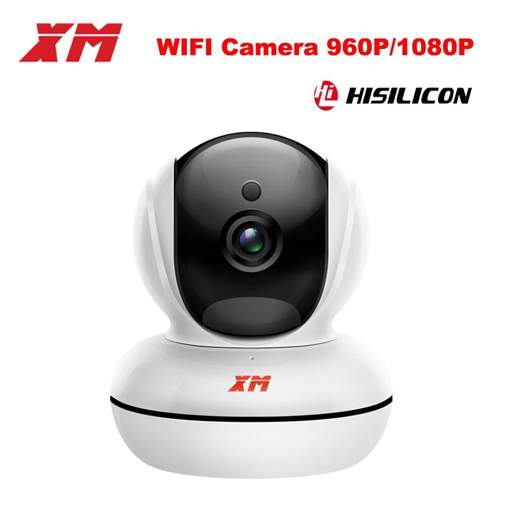 Câmera wi-fi HD 960 P/080 P IP casa SD Card suporte para Câmera Pan/Tilt Visão Nocturna Câmera De Segurança P2P CCTV Cam com IR-Cut ICSee XM
