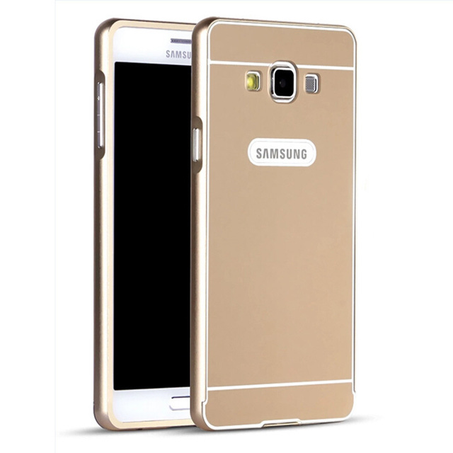 finest selection 2ad92 f4728 US $5.99 |Luxury Ultra thin Aluminum Metal + Acrylic Glass Back Cover Case  for Samsung Galaxy E5 on Aliexpress.com | Alibaba Group