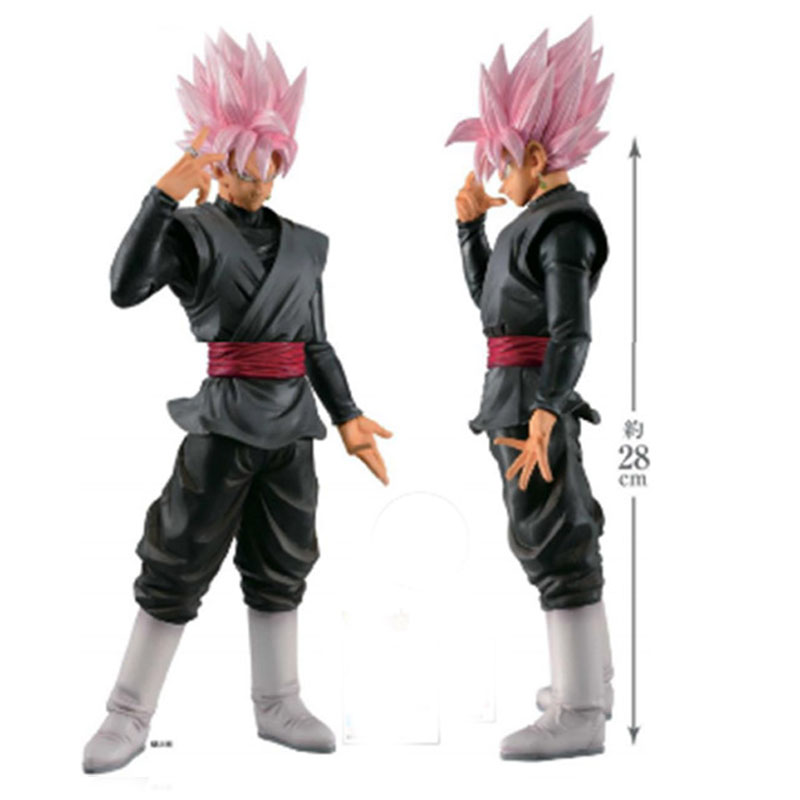Dragon Ball Z Grandista ROS Super Saiyan Rose Goku PVC Figure Collectible Model Toy Big Size 32cm dragon ball z super big size super son goku pvc action figure collectible model toy 28cm kt3936