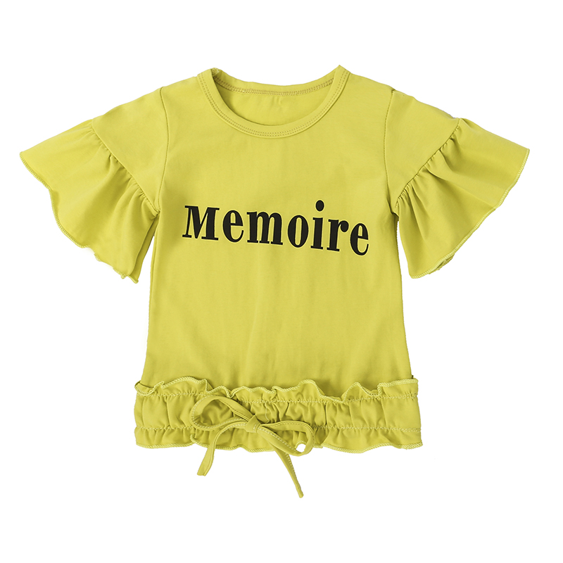 Children Sets for Girls Fashion 19 New Style Girls Suits for Children Girls T-shirt + Pants + Headband 3pcs. Suit ST307 6