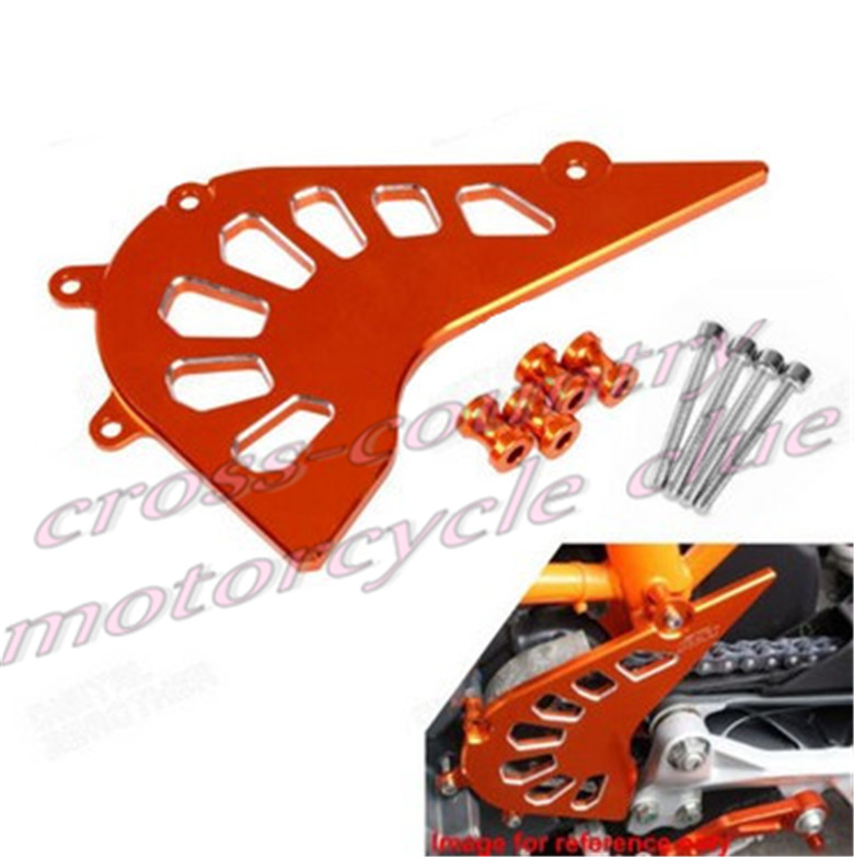 Motorcycle CNC Aluminum Billet Front Sprocket Cover Engine Chain Guard Case Protection For KTM DUKE 390 13-15 motorcycle front rider seat leather cover for ktm 125 200 390 duke