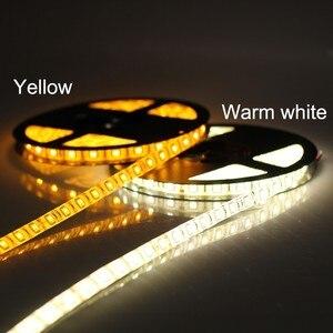 Image 4 - DC 24V 5050 LED רצועת 60 נוריות/m 5 M/Roll 300 נוריות IP20 IP65 עמיד למים LED רצועת 5050 RGB, לבן, חם לבן, אדום, כחול, ירוק, צהוב