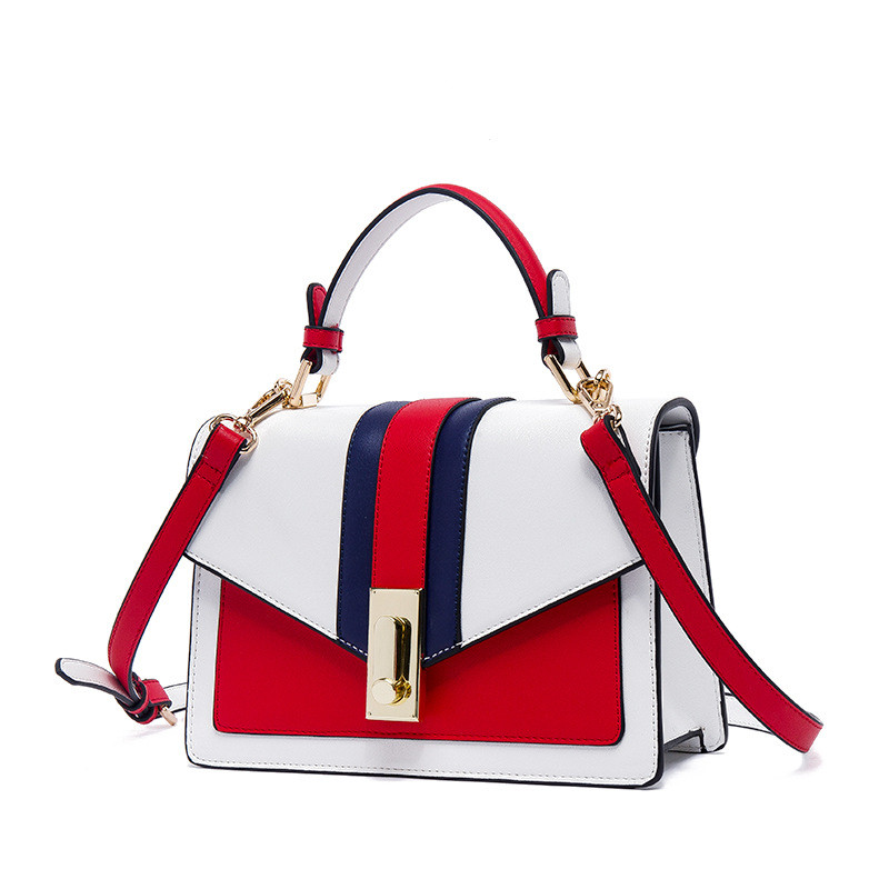 New Style Female s Handbags for 2019 Trend Panelled and Patchwork small square bag Women Fashion