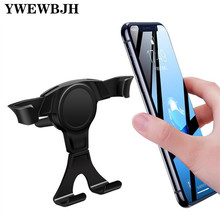 YWEWBJH Universal Car Phone Holder Flexible Gravity Air Vent Mount In Mobile Stand For iPhone Samsung