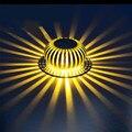 3 W de Alta Potencia LED de Pared de Luz Empotrada en Pared lámparas de bulbo del punto AC85-265V Home Hotel decoración para passway, corredor