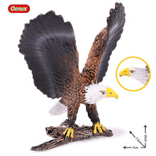 Oenux имитация Орлиная птица модель Фигурка домашний декор миниатюрное украшение для сада в виде Феи фигурки из ПВХ игрушка для детей подарок