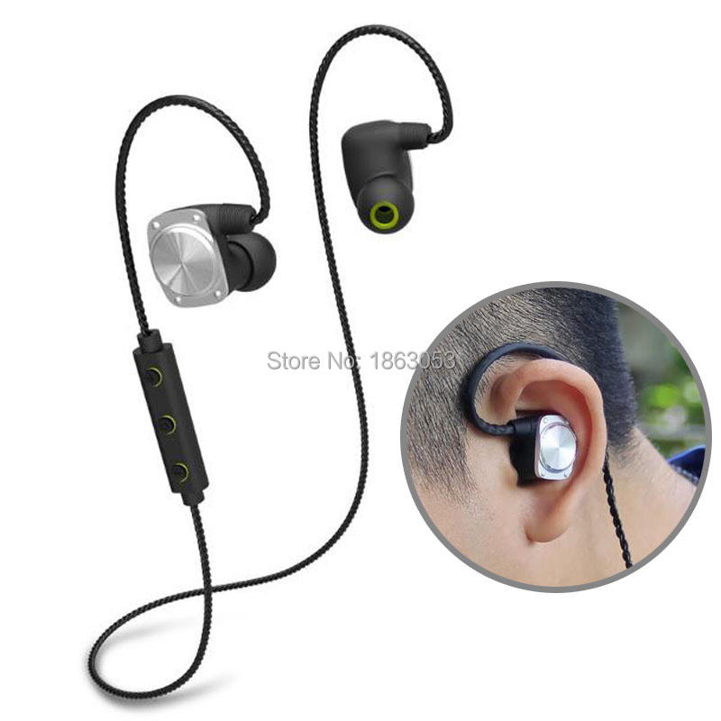 Original U6 Sports Bluetooth Headset Stereo IPX6 Waterproof Earphones Wireless Earbuds Sport Headphones for huawei iphone pk U5 remax s2 bluetooth headset v4 1 magnet sports headset wireless headphones for iphone 6 6s 7 for samsung pk morul u5