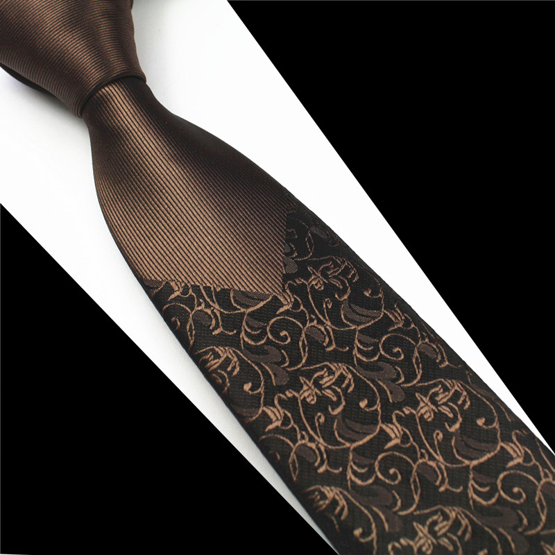 Floral Dotted Skinny Mens Ties