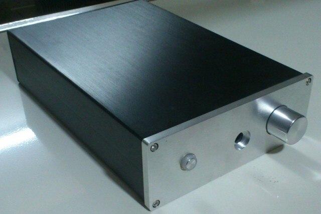 1907 Full Aluminum headphone DIY Enclosure box amplifier case1907 Full Aluminum headphone DIY Enclosure box amplifier case