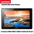 """Para Lenovo tab A10-70 A7600 A7600-F A7600-H A10-80 10.1 """"mesa de Vidro Temperado Protetor De Tela 2.5 9 h Protetor Segurança filme"""