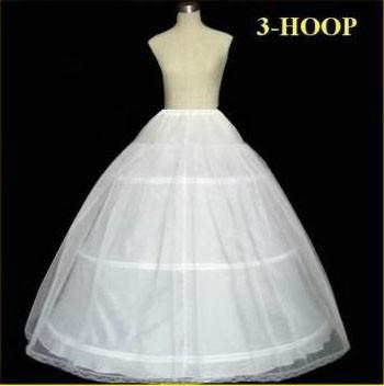 Hot-sale-50-off-3-HOOP-Ball-Gown-BONE-FULL-CRINOLINE-PETTICOAT-WEDDING-SKIRT-SLIP-NEW