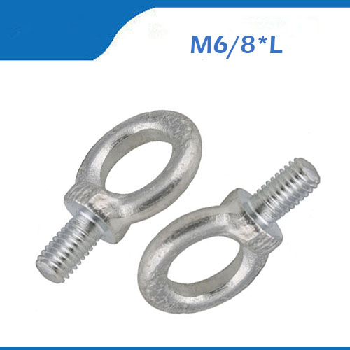 National Hardware N245-183 Galvanized Forged Steel Punched Eye Bolt 1//2 x 10 in.