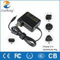 AC laptop power adapter 19.5V 3.34A for Dell Vostro 5470 5560 5460D-2528S 5470D-1628 5560D-1328 FA90PM111 YY20N  AU/EU/UK Plug