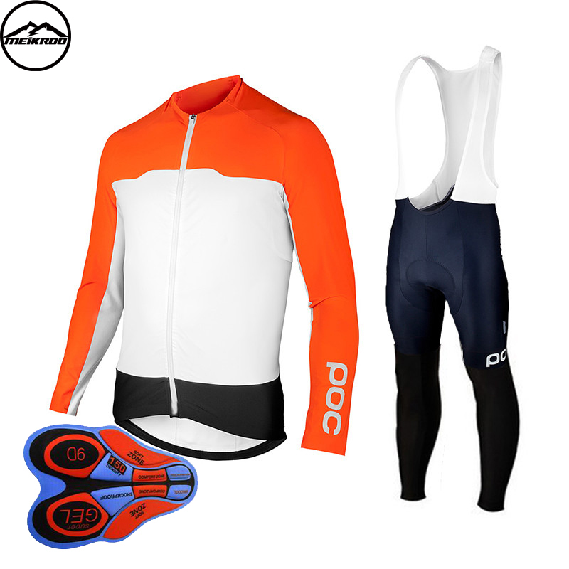2018 Pro Flier Winter Thermal Fleece Cycling Jersey Set Long Sleeve Bicycle Clothing MTB Bike Wear Maillot Ropa Ciclismo ...