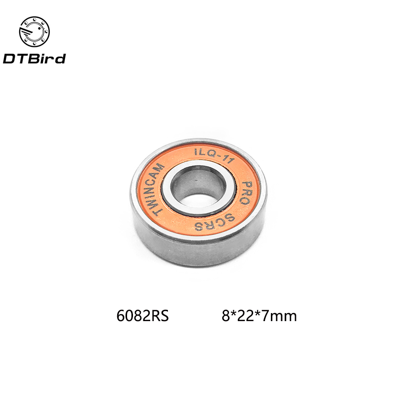 608 2RS ABEC-11 (8PCS) 8X22X7MM 8*22*7mm Skateboard Ball Bearing 608RS EMQ Z3V3 non standard special ball bearing 608 630 8 2rs1 630 8 bearing thick b8 74d 8x22x11mm bearing