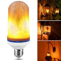 E26 LED Flame Bulb Flickering Flame Effect Simulated Flame Light Decorative Light For Hotel Bars Home