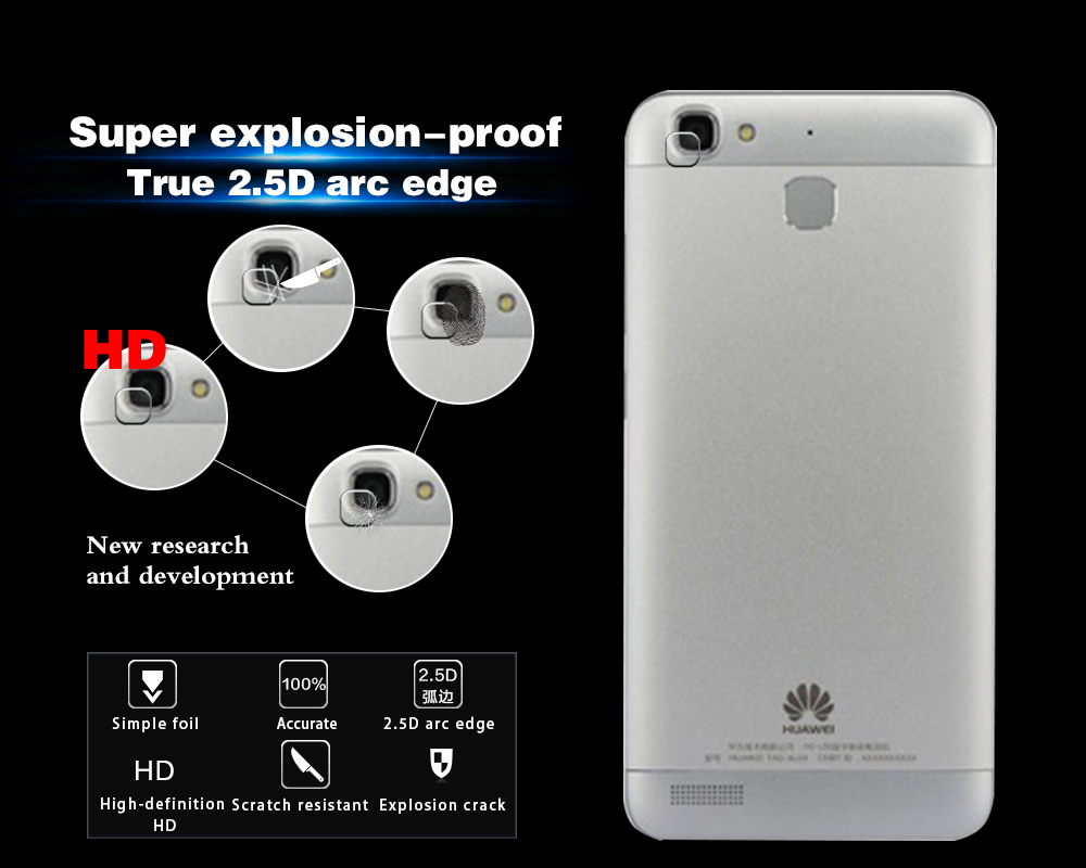 Nwt Anti Scratch Back Camera Lens Tempered Glass Film For Huawei Homtom Ht17 Journey From The First Circuit Board To Delivery Thank You Very Much