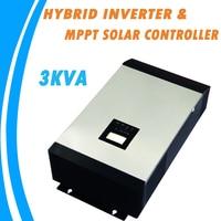 3KVA Чистая синусоида гибридных инвертор электро mppt PV Контроллер заряда MPS 3K