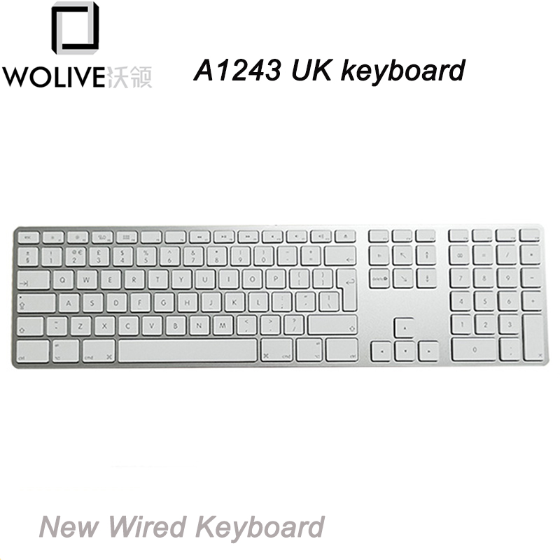 Lot Of 2 Clear Tpu Super Thin Cover Skin For Apple Wireless Keyboard A1255 A1314