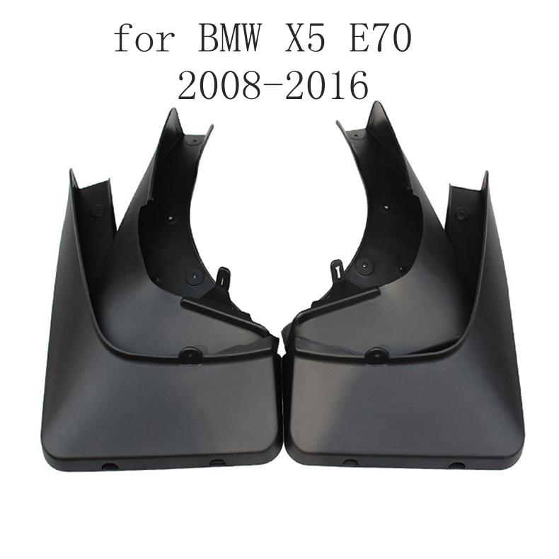 For BMW X5 G05 2019 2020 Plastic Splash Guards Mud Flaps Mud Guards 4pcs