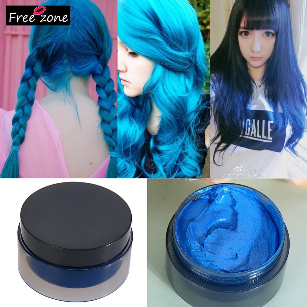 5 Colors Fashion Hair DIY Color Design 100ml Hair Modeling ...