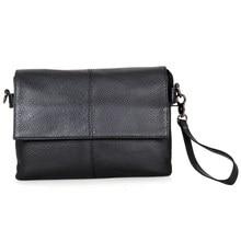 Real Vintage Leather Unisex Shoulder Messenger Bag Crossboday Purse Sling For Men C003A