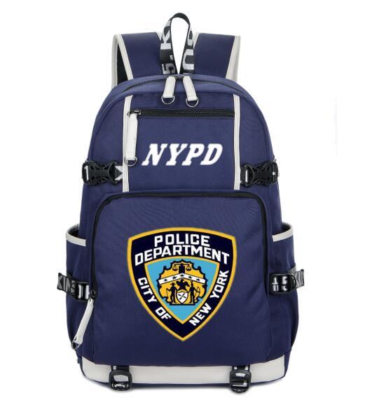 d16cbaa5b5 2019 New York City Dipartimento di Polizia NYPD zaino Adolescente Della  Ragazza Zaini degli uomini delle