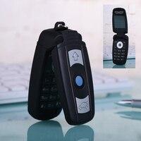 MAFAM X6 Unlock Flip Russian Key Hebrew Single Sim Small Special Mini Small Cell Mobile Phone Cellphone X6 P034
