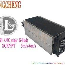 KUANGCHENG горная промышленность Scrypt алгоритм ASIC Spot Gridseed G-Blade Litecoin Blade Miner 5 м/S-6M/с